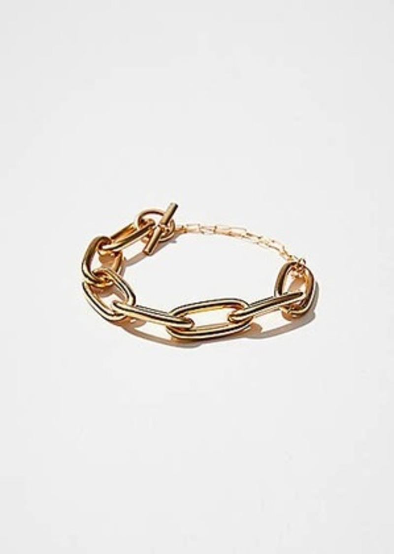 Lou & Grey Maslo Oval Chain Bracelet