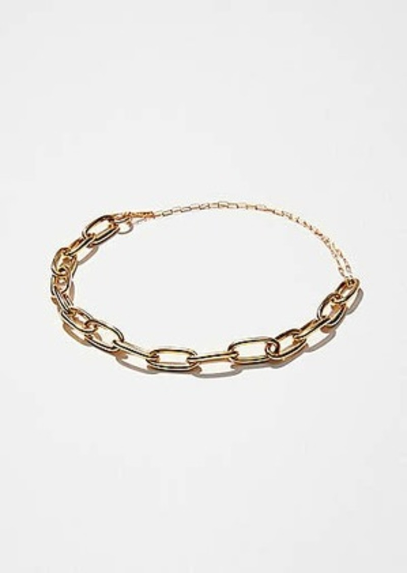 Lou & Grey Maslo Oval Chain Necklace
