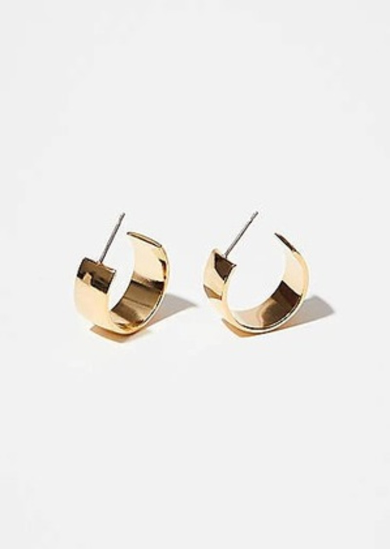 Lou & Grey Maslo Small Flat Hoop Earrings