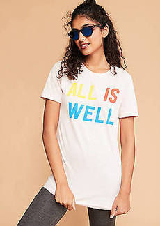Lou & Grey Nellie Taft All Is Well Tee