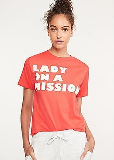 Lou & Grey Nellie Taft Lady On A Mission Tee
