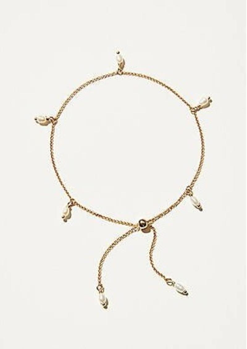 Lou & Grey Pearl Chain Bracelet