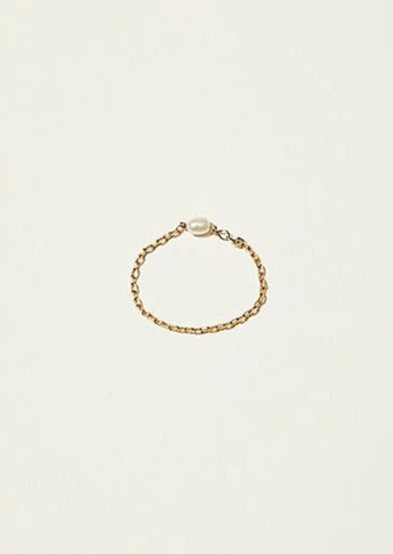 Lou & Grey Pearl Chain Ring