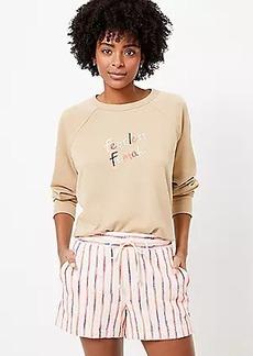 Petite Lou & Grey Fearless Female Terry Sweatshirt