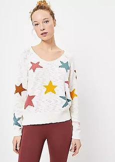 Petite Lou & Grey Star Sweater