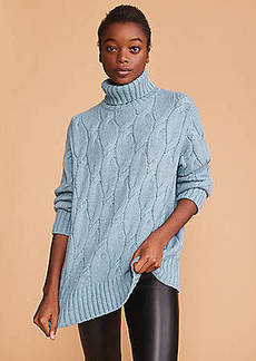 Lou & Grey Cable Tunic Sweater