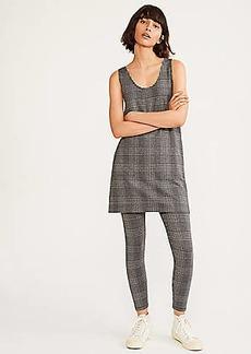 Lou & Grey Plaid Ponte Pocket Jumper Dress