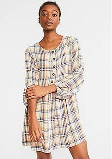 Lou & Grey Plaid Pop Dress