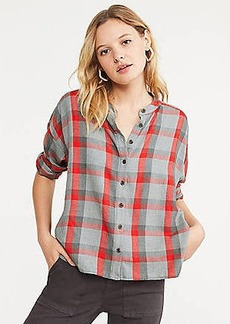 Lou & Grey Plaid Cozy Shirt