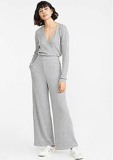 Lou & Grey Ribbed Brushed Wide Leg Pants