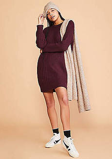 LOFT Lou & Grey Ribside Sweater Dress