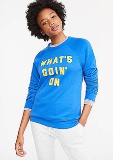 Lou & Grey Rosser Riddle What's Goin' On Sweatshirt