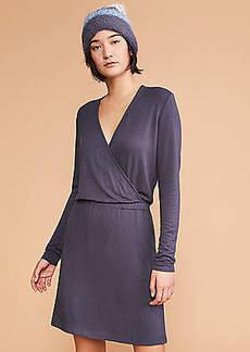 LOFT Lou & Grey Signaturesoft Crossover Pocket Dress