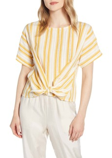 Lou & Grey Skip Dobby Stripe Top