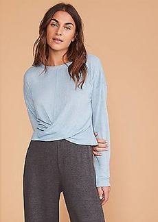 Lou & Grey Softened Jersey Twist Top