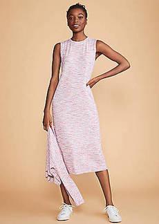 Lou & Grey Spacedye Jersey Midi Dress