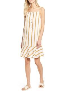 Lou & Grey Stripe Flounce Dress