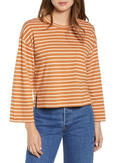Lou & Grey Stripe Softserve Pocket Tee