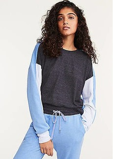 Lou & Grey Sundry Colorblock Sweatshirt