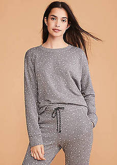 Lou & Grey Sundry Stars Basic Sweatshirt