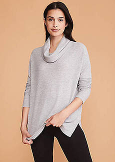 Lou & Grey Toasty Knit Cowl Top