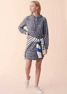 Lou & Grey Marled Pocket Hoodie Dress
