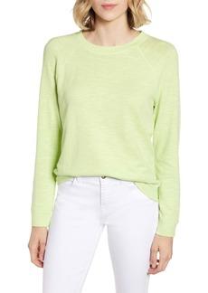 Lou & Grey Textured Sweatshirt