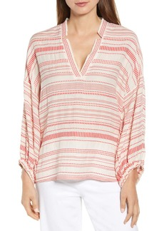 Lou & Grey Vastra Stripe Blouse