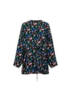 Louis Vuitton Splash Print Dress