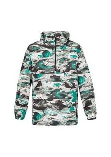 Louis Vuitton Surface Planet Print Hooded Safari Jacket
