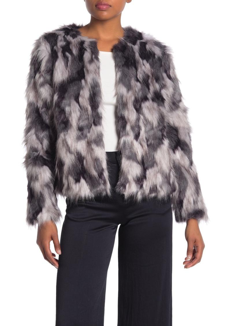Lovers + Friends Averly Faux Fur Coat