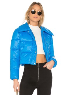 Lovers + Friends Candy Cropped Puffer