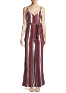 Lovers + Friends Charisma V-Neck Wide-Leg Jumpsuit