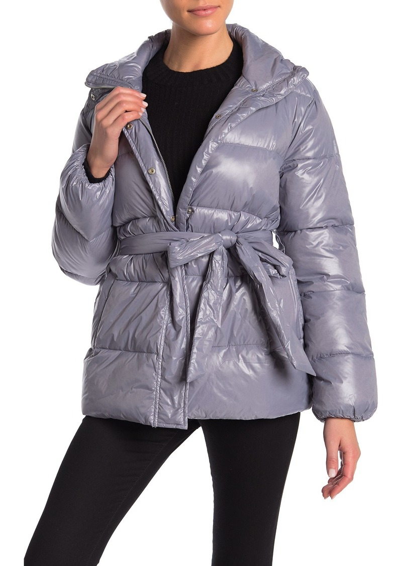 Lovers + Friends Cold Night Quilted Puffer Jacket