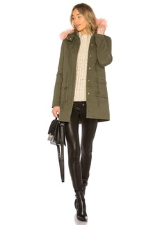 Cora Parka Jacket With Faux Fur
