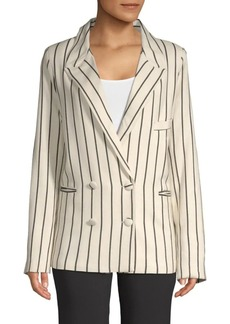 Lovers + Friends Fanning Striped Blazer