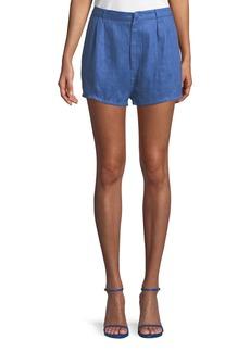 Lovers + Friends Jordy Linen Shorts
