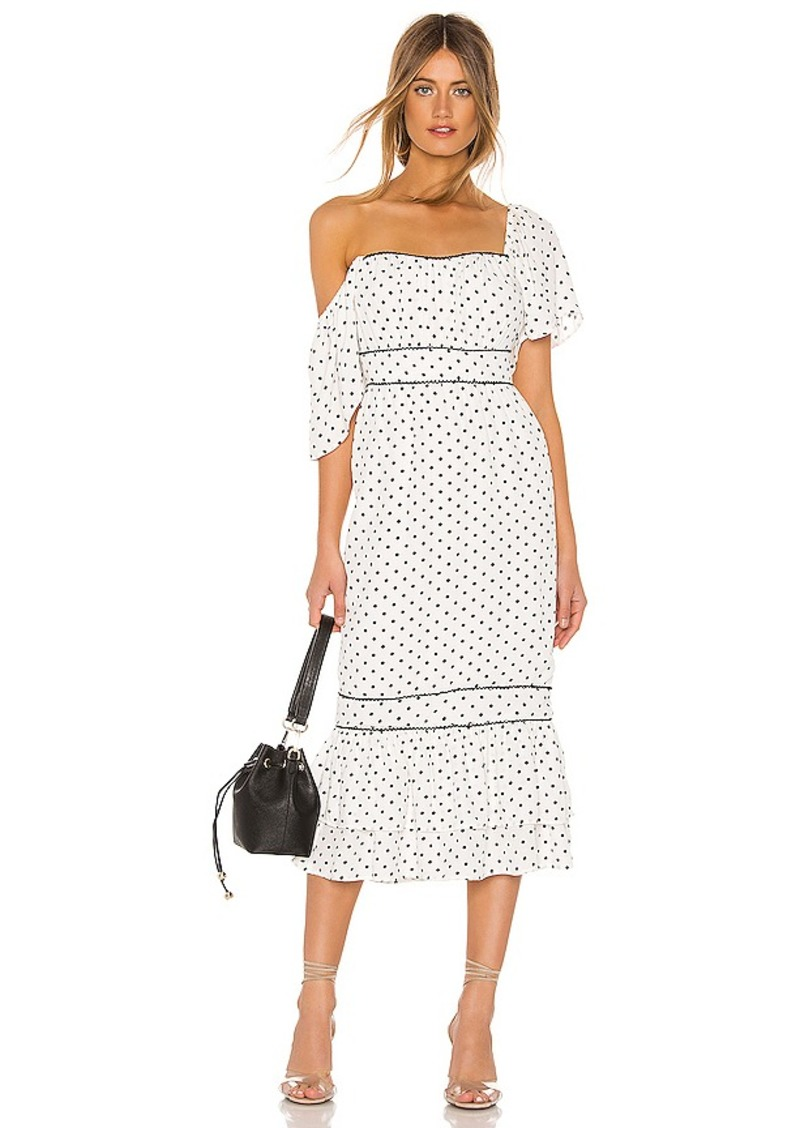 Lovers + Friends Alba Midi Dress
