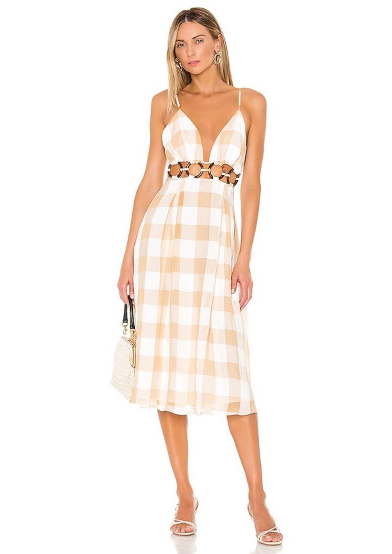 Lovers + Friends Albany Midi Dress