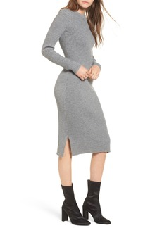 Lovers + Friends Around the Fire Ribbed Midi Dress