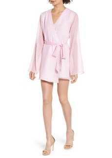 Lovers + Friends Brunching Short Robe