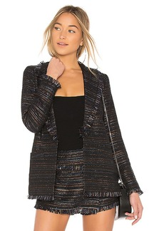 Lovers + Friends Calloway Jacket in Navy. - size L (also in M,S,XS, XXS)
