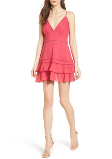 Lovers + Friends Casey Ruffle Minidress