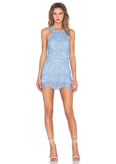 Lovers + Friends Caspian Shift Dress in Blue. - size L (also in M,S,XS)