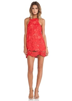 Lovers + Friends Caspian Shift Dress in Red. - size M (also in L,S,XS)