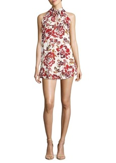 Lovers + Friends City Street Floral Dress