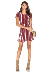 Lovers + Friends Compass Fit & Flare Dress