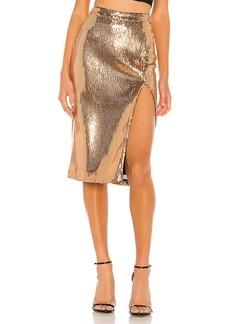 Lovers + Friends Duchess Sequin Skirt