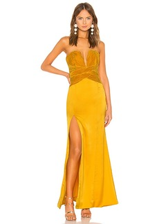 Lovers + Friends Eloa Gown