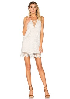 Lovers + Friends Escape Dress in White. - size M (also in S,XS)